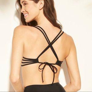 Shade & Shore Strappy Cross Back Push-Up Bikini